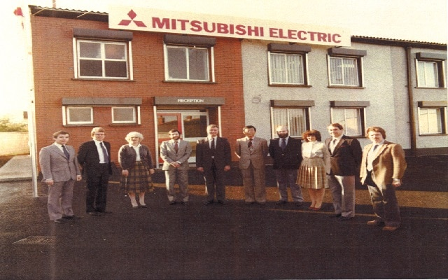 Mitsubishi Electric opens in Ireland in 1981